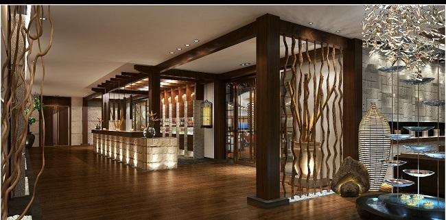 新中式餐厅设计方案(徐州)_餐馆设计_工装设计_独立之